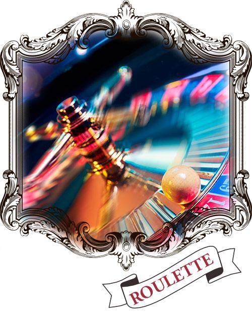 roulett är självklart på casino!
